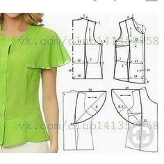 Pattern Making Fundamentals: Dart manipulation and pivot po Top with bell sleeves (convert to Pams top) 201 likes, 1 comment - dikiskal . No automatic alt text available. Cutting and stitching 27 elegant photo of custom sewing patterns – Artofit This Pi Sewing Dress, Dress Sewing Patterns, Blouse Patterns, Clothing Patterns, Blouse Designs, Diy Clothes, Clothes For Women, Sewing Blouses, Fashion Sewing