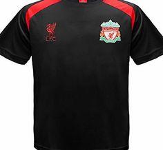 fd1d8cc50 kids clothes boys liverpool f c liverpool fc official gift boys poly  training kit t shirt black 8 9 yrs mb