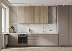 Most stunning stylish modern kitchen design and decor ideas 35 # decor . Kitchen Room Design, Kitchen Cabinet Design, Modern Kitchen Design, Home Decor Kitchen, Kitchen Living, Interior Design Kitchen, Home Kitchens, Modern Kitchen Interiors, Modern Kitchen Cabinets