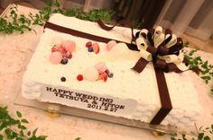 ひと組ごとにオリジナルデザインのケーキを作製してもらえる   ミエルクローチェ(三重県:ゲストハウス)   結婚式場・結婚準備の口コミサイト-みんなのウェディング [写真から探す]