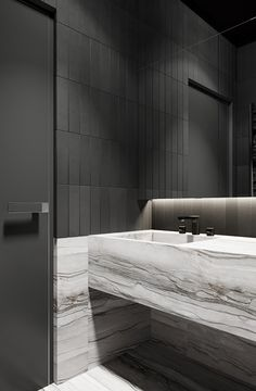 COCOON marble bathroom design inspiration bycocoon.com | high end stainless steel bathroom taps | modern design products for bathroom and kitchen | freestanding bathtubs and modern basins | renovations | villa design | hotel design | Dutch Designer Brand COCOON