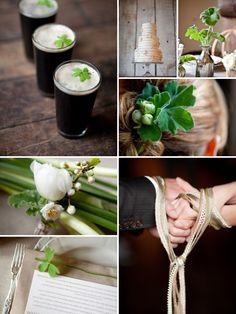 Irish wedding--includes traditional Celtic hand fasting