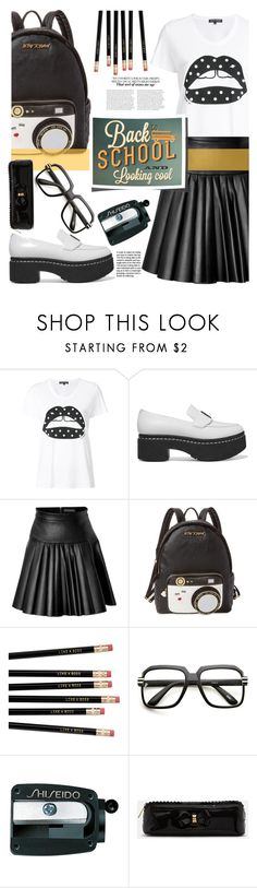 """""""Untitled #452"""" by riuk ❤ liked on Polyvore featuring Markus Lupfer, Opening Ceremony, David Koma, Betsey Johnson, ZeroUV, Shiseido and Ted Baker"""
