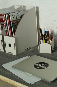 Werkhaus Ablage Big Organizer Grün Briefablage Stiftehalter Schreibtisch