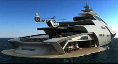 Now that's a Yacht...