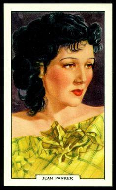 Todos os tamanhos | Cigarette Card - Jean Parker | Flickr – Compartilhamento de fotos!
