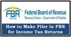 7 Best FBR images | federal board, income tax return, income tax