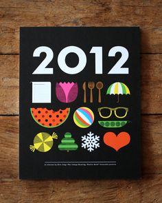 2012 icon calendar