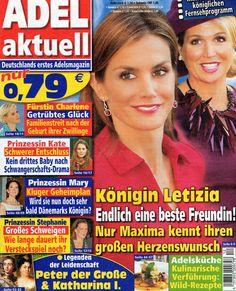 2014: Königin Letizia von Spanien und Königin Maxima von Holland