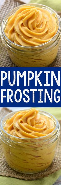 This Pumpkin Buttercream Frosting has such a perfect pumpkin flavor, and would be amazing on a million different things!