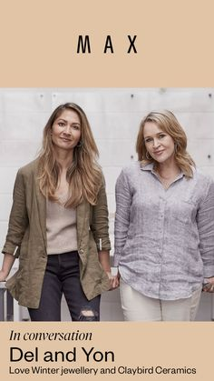 Delwynne Winter and Yon Kavvas are the brains behind Love Winter jewellery, and Claybird Ceramics respectively; friends and collaborators who share a light-filled studio and showroom in Auckland's Takapuna. Keep Up, Auckland, Showroom, Journal, Ceramics, Pullover, Jewellery, Studio, Friends