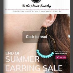 New To the Nines Jewelry Summer Earring Sale Catalog
