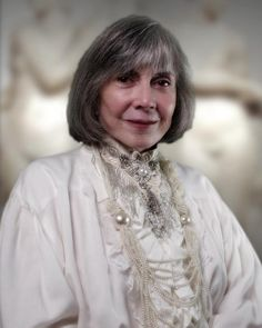 Lovely photo of Anne Rice :-) Love her!