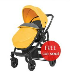 Graco Evo Pushchair - Mineral Yellow *Colour exclusive to Mothercare* (as of 09.05.2014)