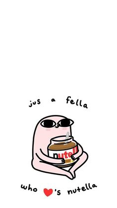 Can anyone tell me why the fella is naked Funny Phone Wallpaper, Mood Wallpaper, Kawaii Wallpaper, Aesthetic Iphone Wallpaper, Aesthetic Wallpapers, Cute Wallpaper Backgrounds, Cute Cartoon Wallpapers, Wallpaper Quotes, Cute Quotes