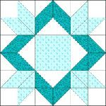 Michigan quilt block pattern