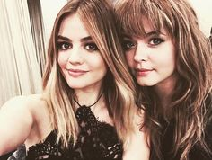 Lucy Hale & Sasha Pieterse