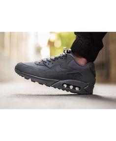Nike Airmax 90 x Dark Grey - Has anyone got this pair? Air Max 90 Sale, Air Max 270, Air Max Sneakers, Sneakers Nike, Grey Trainers, Cheap Nike Air Max, Nike Sportswear, Shoe Game, Dark Grey