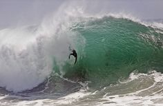Body Surfing | body-surfer finds himself in the grip of a huge wave Thursday at the ...