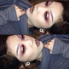 @anastasiabeverlyhills dark brown dipbrow @limecrimemakeup Venus palette @maccosmetics styled in sepia lipstick