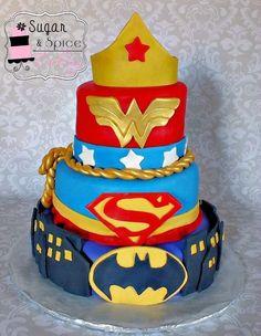 Super girls cake