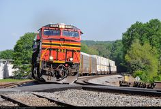 RailPictures.Net Photo: NS 8114 Norfolk Southern GE ES44AC at Easley, South Carolina by boohooblues