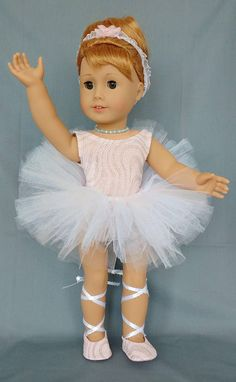 doll clothes for 18 inch dolls Ballet outfit or dance