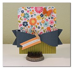 Pebbles Inc. Sunnyside Collection - Love the big bow look out of paper