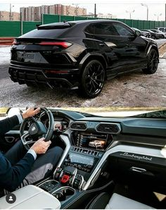 ♠️Rate this Lamborgh Carros Lamborghini, Lamborghini Cars, Lamborghini Urus Interior, Lamborghini Gallardo, Top Luxury Cars, Luxury Suv, Fancy Cars, Cool Cars, Lambo Truck