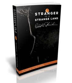 Stranger in a Strange Land by Robert A. Heinlein. Reimagined book cover by Amanda Cobb. www.amandajcobb.com #book #cover #design