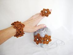 Hand Crocheted Accessories Crochet Accessories by BoryanacrochetBG