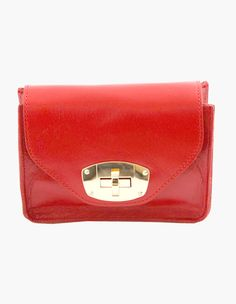 5 Solid Color Mini Sleek Leather Cross Bags vovobag #vovobag #fashion #bag #minibag #crossbody #sleek-leather #solid color #compact-size #daily #red #apple-red