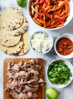Beer-Marinated Flank Steak Fajitas | 31 Delicious Things You Need To Cook In August