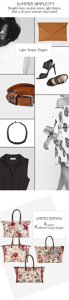 BSB Fashion Newsletter - S/S 15 - Summer Simplicity  Subscribe for more >> www.bsbfashion.com