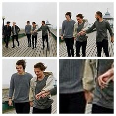 They freaking held hands in the You and I video!How did I not see this!?