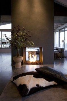 kamin braun marmor einbauen wohnideen pinterest - Steinplatte Kamin Surround