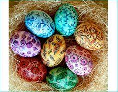 18 Breathtaking Easter Egg Designs with DIY Tutorials