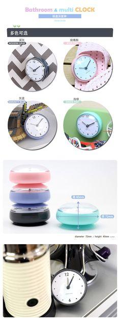 אמבטיה עמיד למים יניקת קיר שעון 2019 חדש הגעה Creative פלסטיק קוורץ שעונים בית תפאורה Horloge Murale מתנות חם מכירות ב-אמבטיה עמיד למים יניקת קיר שעון 2019 חדש הגעה Creative פלסטיק קוורץ שעונים בית תפאורה Horloge Murale מתנות חם מכירות מתוך שעוני קיר באתר AliExpress.com | Alibaba Group Time Out, Beautiful Lights, Clock, Creative, Watch, Clocks