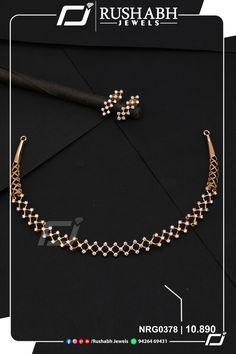 Gold Jewelry Simple, Golden Jewelry, Delicate Jewelry, Diamond Necklace Set, Chevron Necklace, Diamond Studs, Gold Chain Design, Gold Jewellery Design, Diamond Jewellery