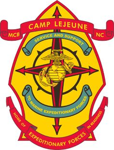 OFFICAL LOGO:  MARINE CORPS BASE CAMP LeJEUNE, NC