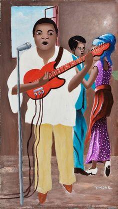 07 octobre '16 — 22 janvier '17: Congo Art Works: Peinture populaire; Commissaires : Bambi Ceuppens (MRAC) et Sammy Baloji (artiste)