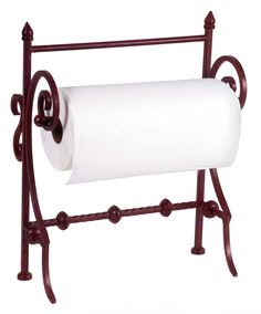 IMAX Red Paper Towel Holder