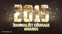 Natural News announces recipients of the 2015 Journalist Courage Awards