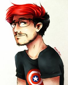 Markiplier fanart originally from Devianart but I found it on Facebook. Not mine but very cool.