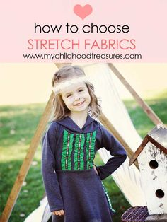 TUTORIAL - How to choose stretch fabric - Types of stretch fabric – My Childhood Treasures