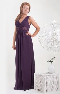 Pretty Gino Cerruti bridesmaid dress