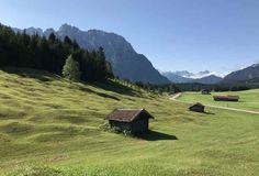 Von der Gröbl Alm über die Buckelwiesen mountainbiken in Mittenwald