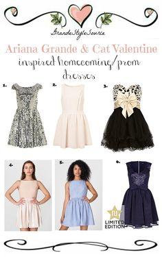 38ac3d12da Cat Valentine   Ariana Grande Inspired Homecoming Prom Dresses 1. Topshop  2. Topshop