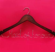 maid on honor dress hanger