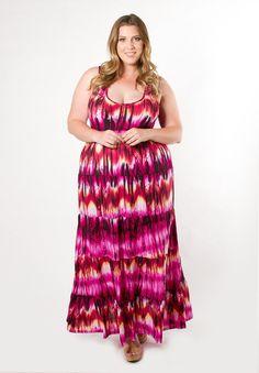 Women's Plus Size Dress | Grace Maxi Dress | SWAK Designs